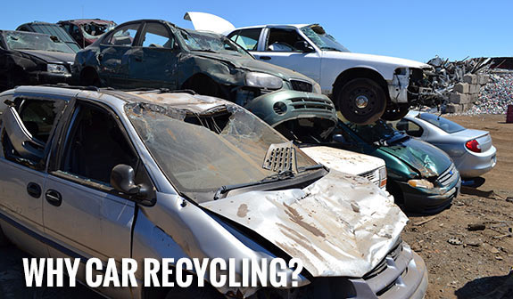 Recycling a junk car in Tarzana: How does it work?